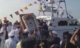 Με τιμές αρχηγού κράτους (και με χρήματα φορολογουμένων) έφτασε στήν Θεσσαλονίκη ή εικόνα της Παναγίας «Άξιον Εστίν». [Βίντεο].