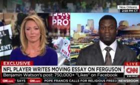 Ο Benjamin Watson κόπηκε στον αέρα στο CNN διότι μίλησε για τον Χριστό.